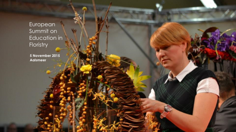 The European Summit on Education in Floristry: November 5!