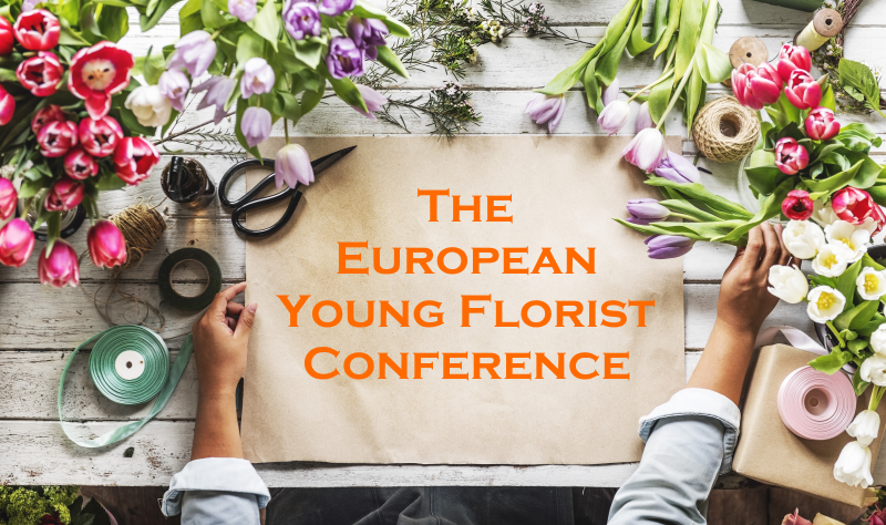 EUROPEAN YOUNG FLORIST CONFERENCE COVEr PHOTO