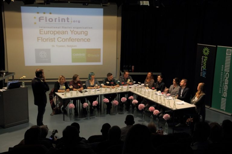 The European Young Florist Conference 2017: an eye-opening panel discussion