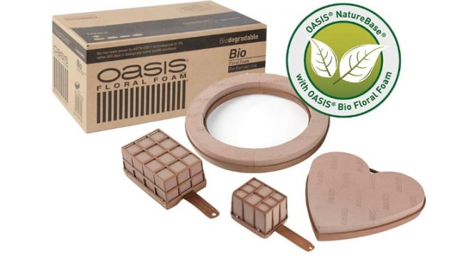 Smithers-Oasis introduces first biodegradable floral foam: OASIS® Bio Floral Foam.