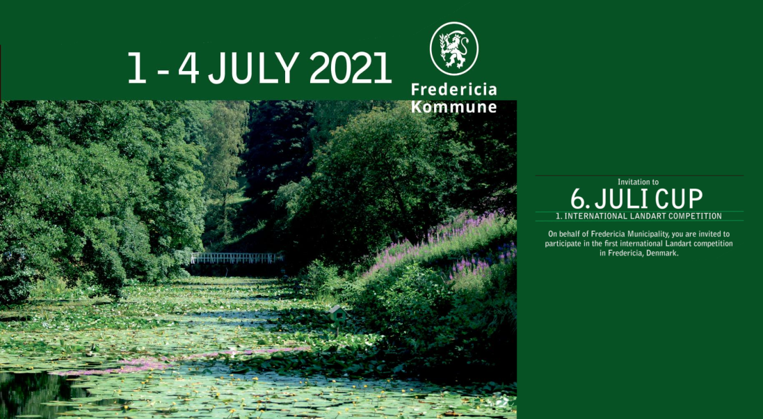 Invitation: International Land Art Competition in Fredericia, Denmark in July