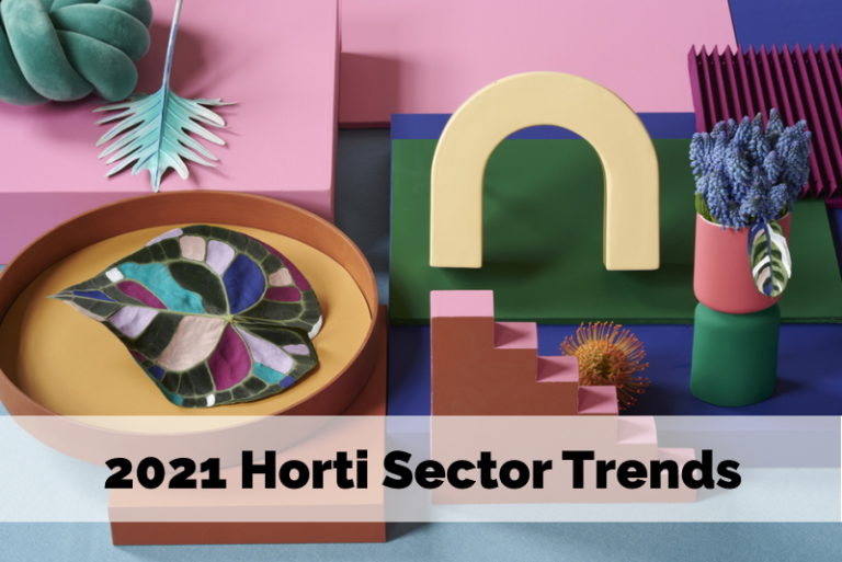 Have a look at the four just-released Horticulture Sector Trends for 2021!