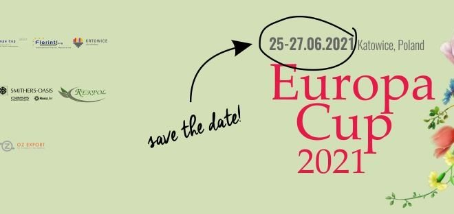 Registration for Florint's EUROPA CUP 2021 reopens temporarily: last chance to take part for courageous florists!