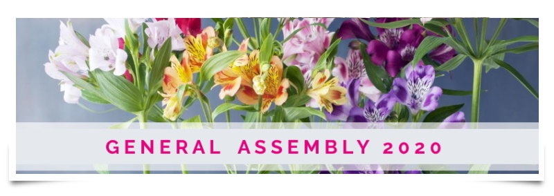 Important announcements from the online 2020 General Assembly of International Florist Organisation