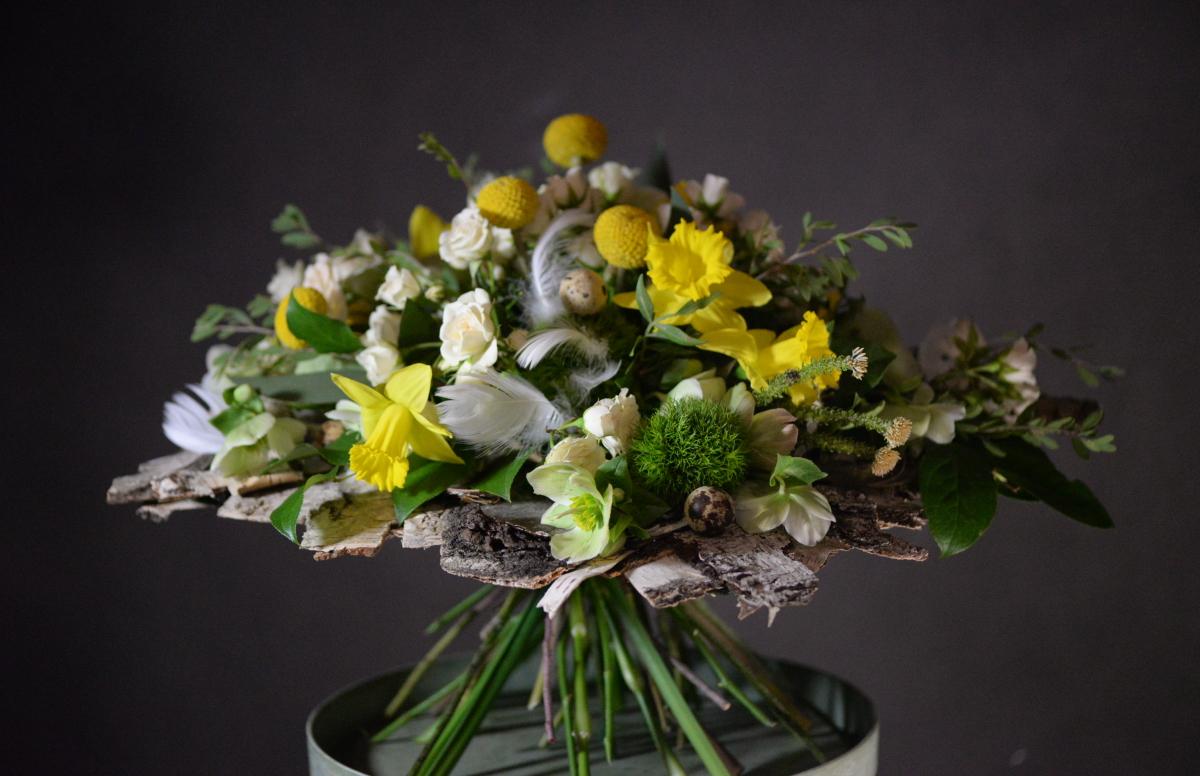 Easter Floristry: wonderful designs by Akademia Marioli Miklaszewskiej