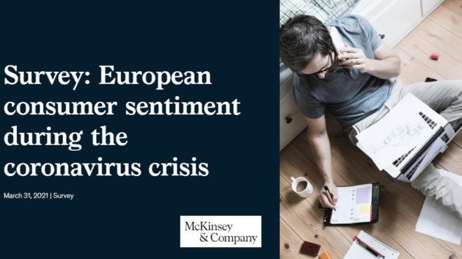 Survey: European consumer sentiment during COVID-19