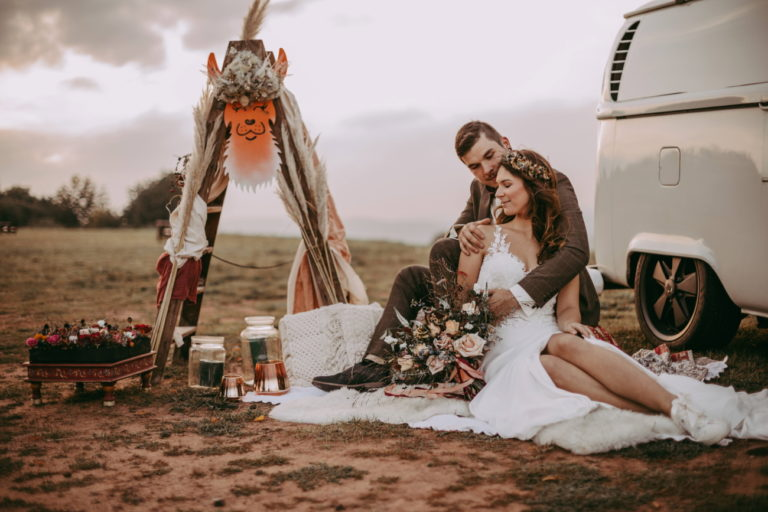 Inspiration for professional florists: the Bohemian Wedding