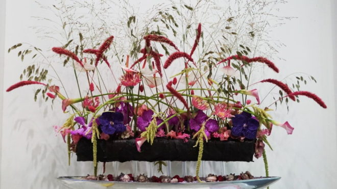 Inspiration for professional florists: designs with sustainable floral foam