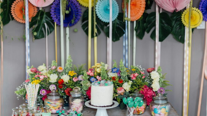 Inspiration for florists: Baby Showers, Birthdays & Kids Parties