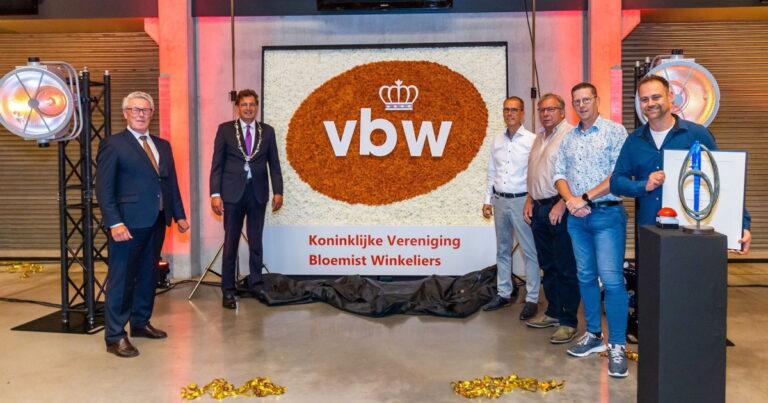Dutch florist association VBW turns 100, awarded the title 'Royal'
